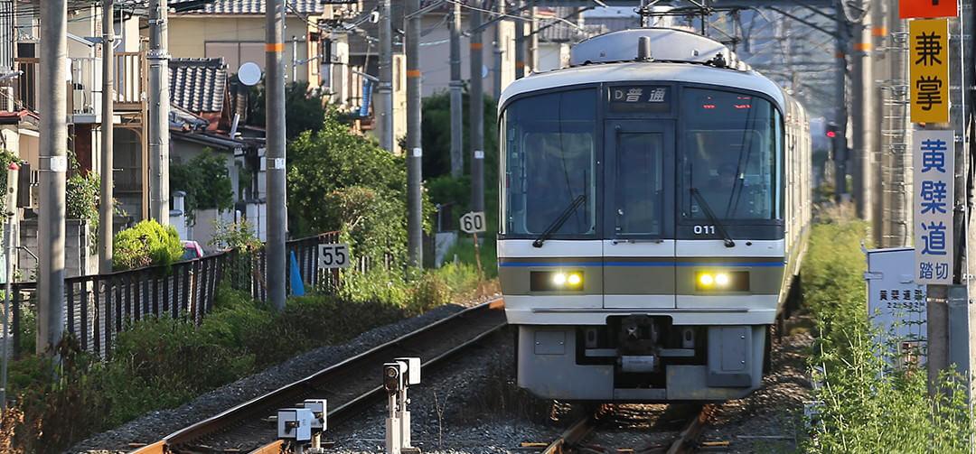 JR京都駅から電車で23分